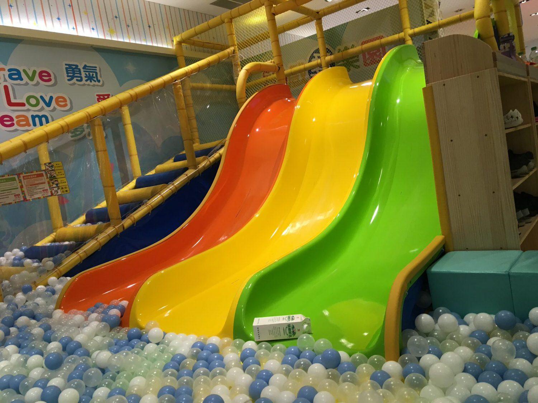 遊戲愛樂園-小小孩高機率哭泣溜滑梯
