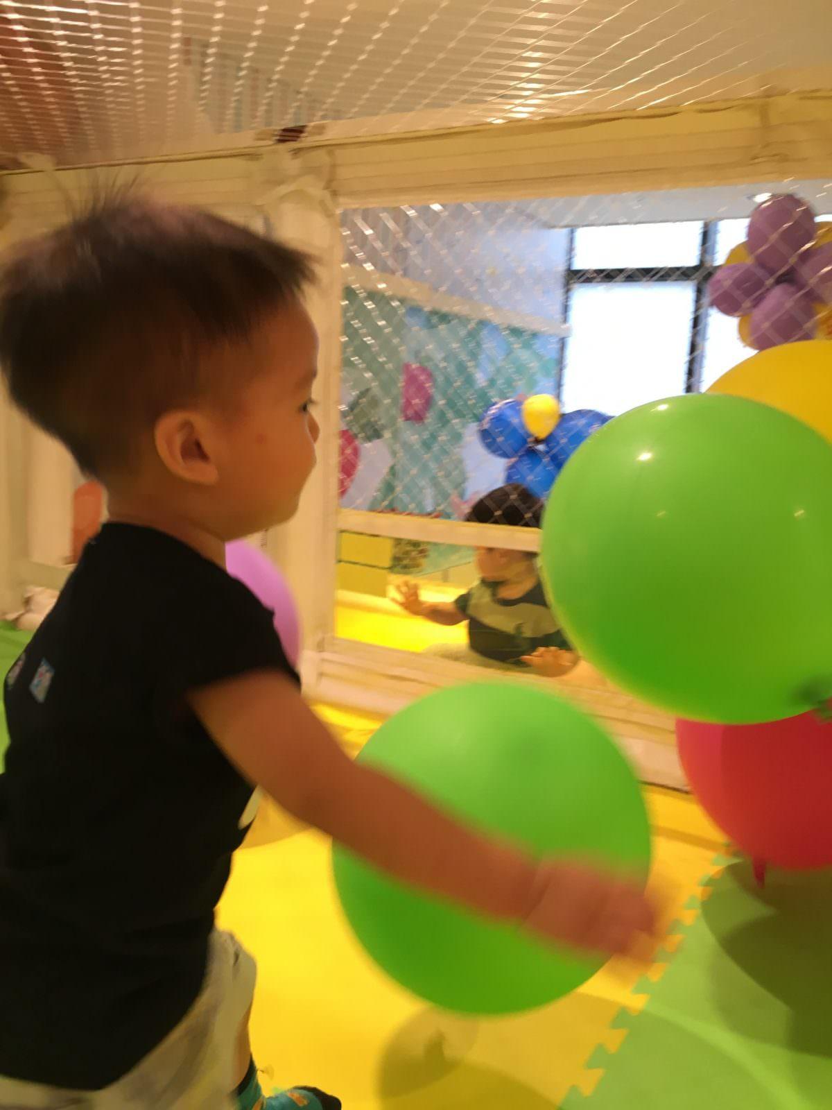 遊戲愛樂園-氣球區
