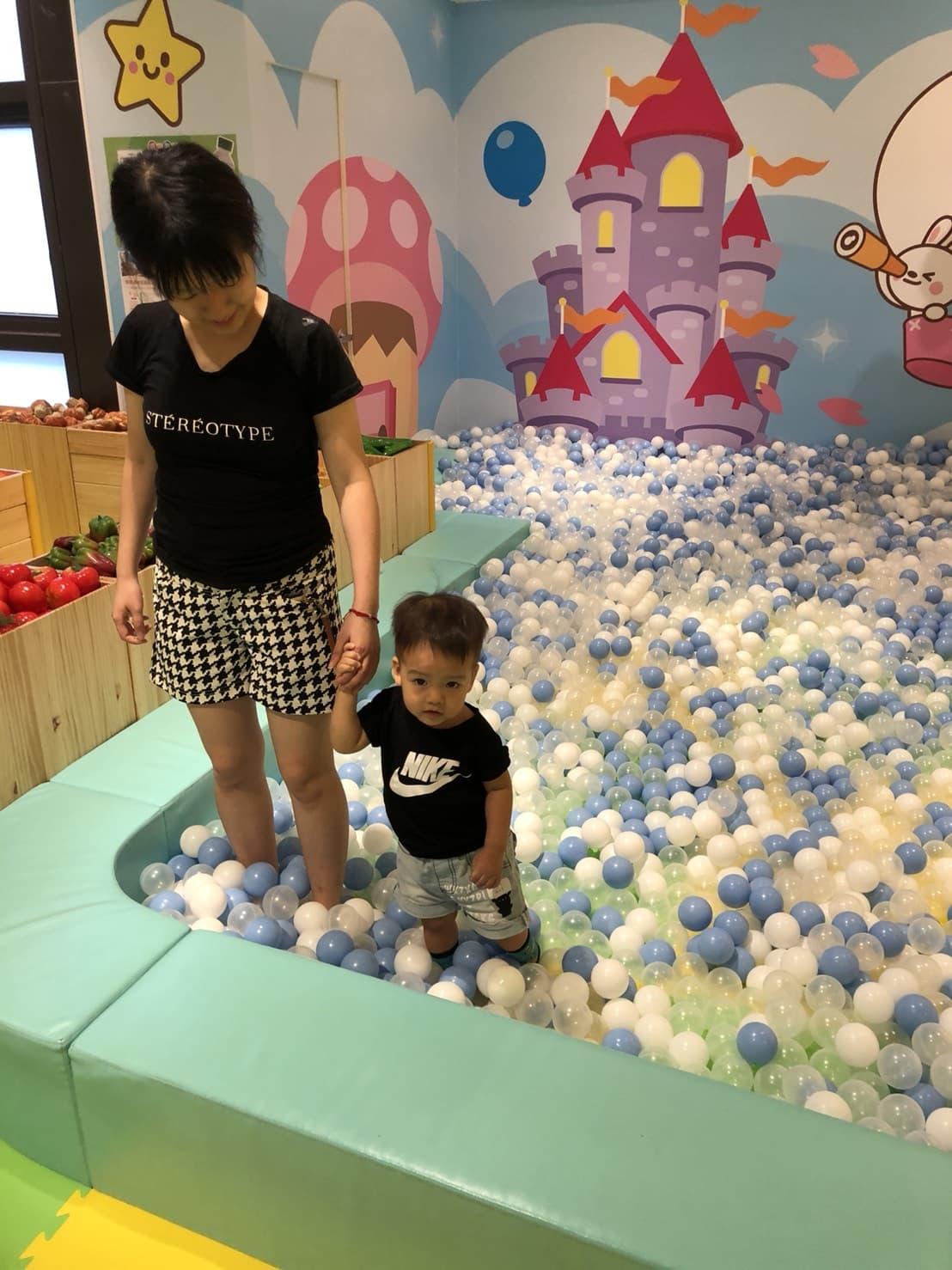 遊戲愛樂園-球池區