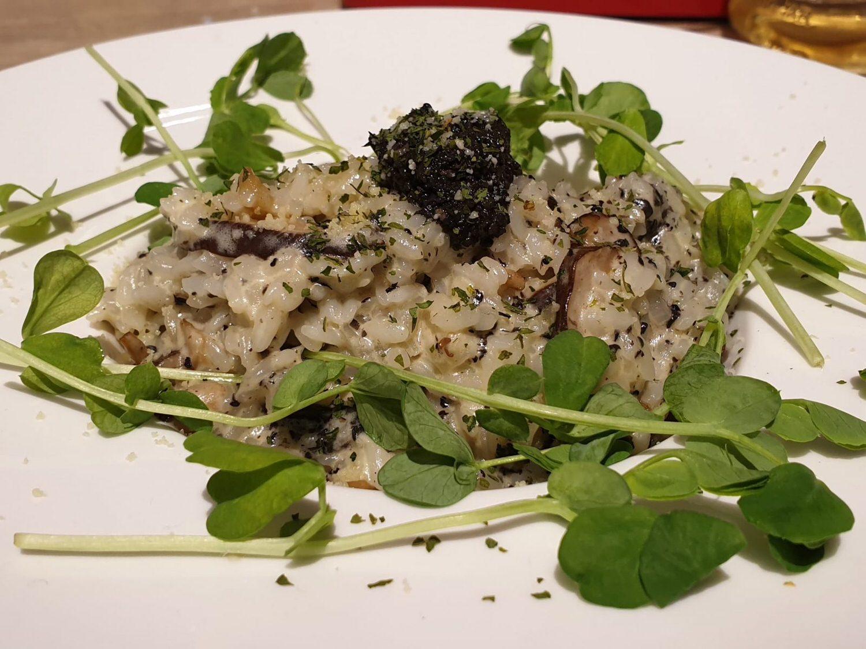 松露野菇燉飯