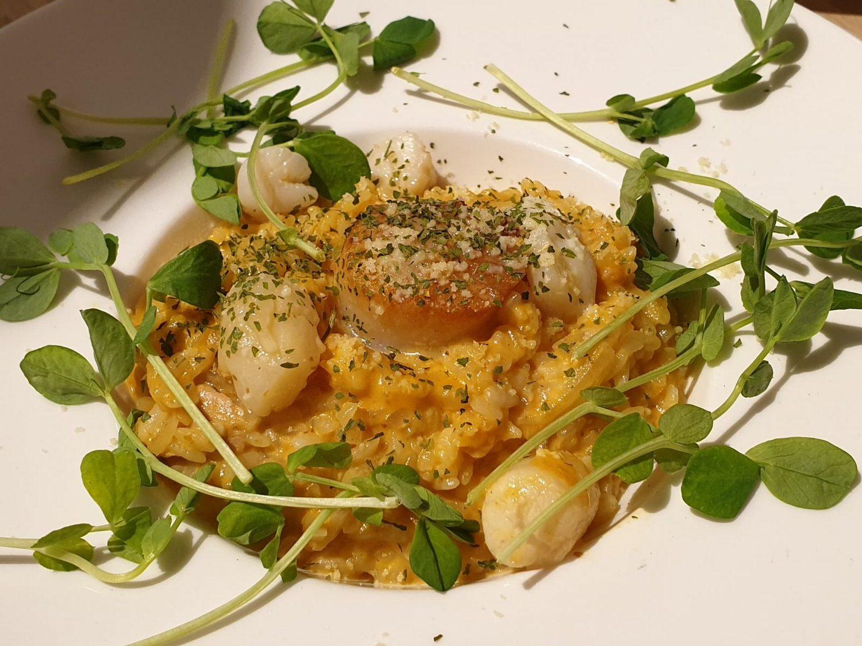 黃金干貝燉飯