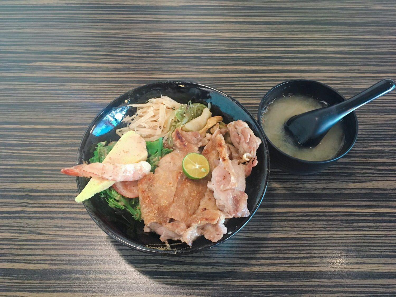 小樽食堂-鹽烤雞腿丼