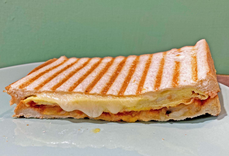 熱壓三明治-薯泥起司